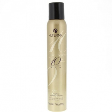 "Alterna The Science of Ten Ultra Fine Brushable Hair Spray Лак-вуаль для волос ""Формула 10"" 200 мл A43403/1116 в магазине BEAUTY-BAZAR.RU"