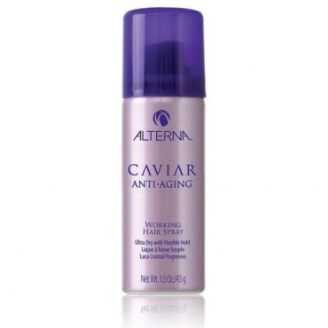 "Alterna Caviar Anti-aging Seasilk Working Hair Spray Лак ""подвижной"" фиксации 50 мл A60030/1318 в магазине BEAUTY-BAZAR.RU"